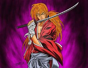 Kenshin Himura aka Battousai the Manslayer by InfamousGee ...
