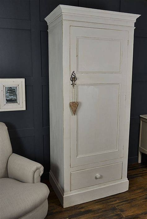 single white wardrobes  mirror