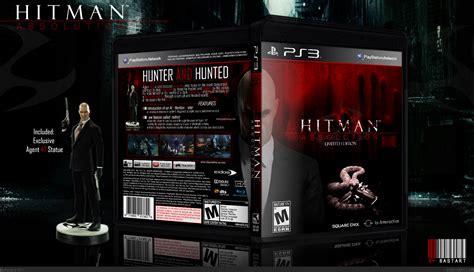 hitman absolution limited edition playstation  box art