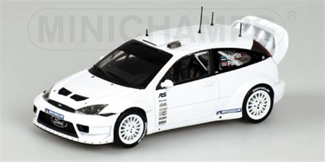 Ford Focus Rs World Rally Championship Test Car 2003