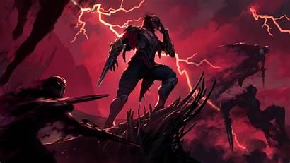 Zed Legends Runeterra League Wallpapers 4k Lol