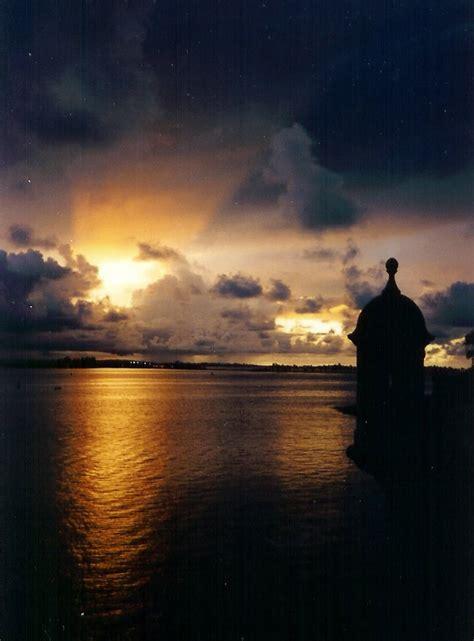 panoramio photo sunset san juan puerto rico
