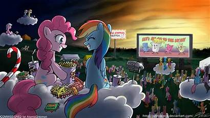 Pie Pinkie Pony Dash Rainbow Night Trot