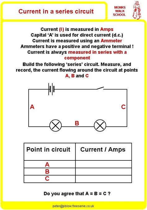 The Gallery For > Simple Circuits For Kids Worksheets