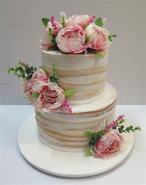 Cake Decorating With Real Flowers - 25 best ideas about cake sizes on cake