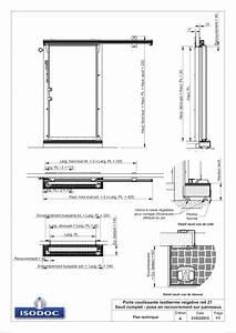 Plan Porte Coulissante : porte coulissante sur un plan le bois chez vous ~ Melissatoandfro.com Idées de Décoration