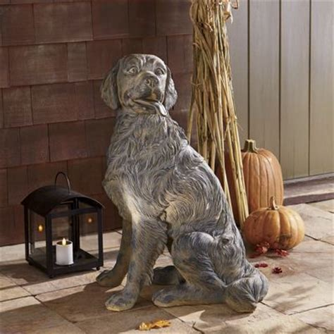 golden retriever statue  country door nn