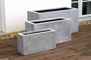 Pflanzen Kübel Beton : blumenk bel aus beton 25 spektakul re dekoideen f r die terrasse ~ Sanjose-hotels-ca.com Haus und Dekorationen