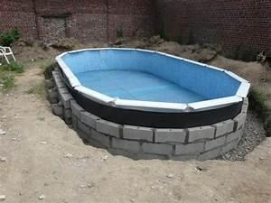 Piscine A Enterrer : piscine hors sol gre enterr e piscine ~ Zukunftsfamilie.com Idées de Décoration