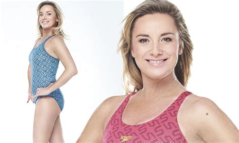Tamzin Outhwaite reveals slender new body after completing ...