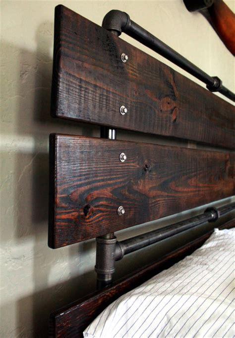 custom bed frames  reclaimed wood