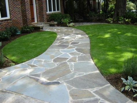 bluestone walkway patterns 31 best images about landscaping front yard on pinterest gardens river rocks and shade plants