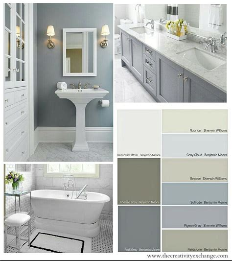 colour ideas for bathrooms beautiful bathroom colors bathroom decor ideas pinterest