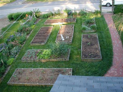backyard raised garden idea gardening pinterest