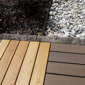 mattonelle in legno per pavimenti esterni woodplate With legno di robinia