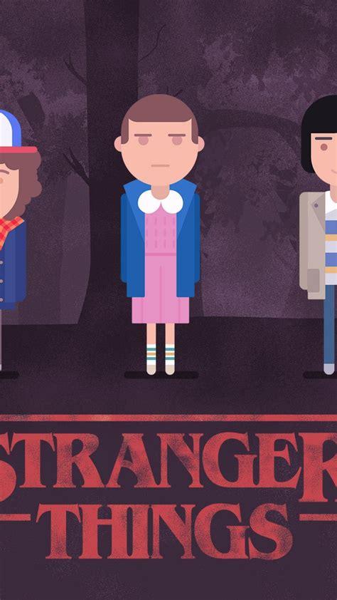 wallpaper stranger  web series minimal