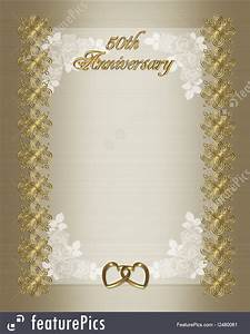 Contact Information Template Free Illustration Of 50th Wedding Anniversary Invitation Template