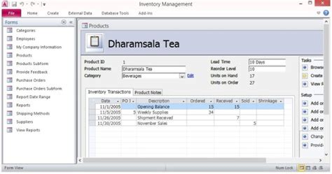 microsoft access sales database template free inventory forms template for microsoft access