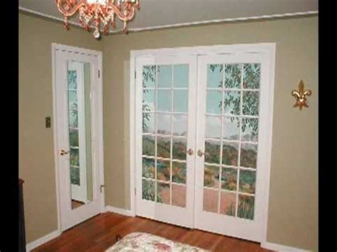 handpainted trompe loeil french doors  ugly