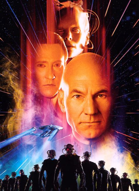 star trek viii  contact poster star trek movies