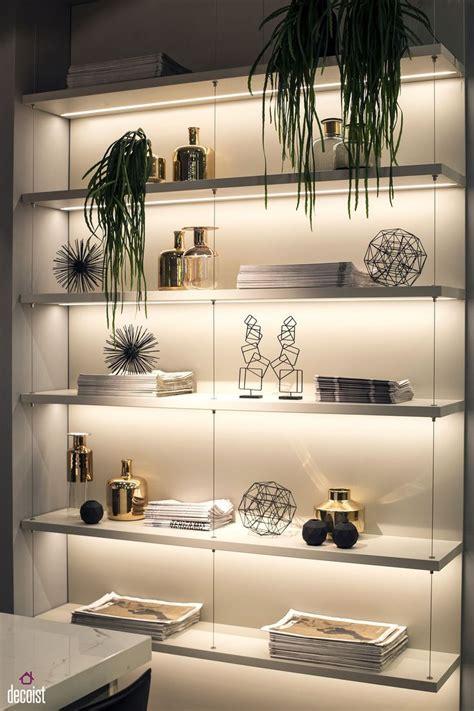 decorating  led strip lights kitchens  energy