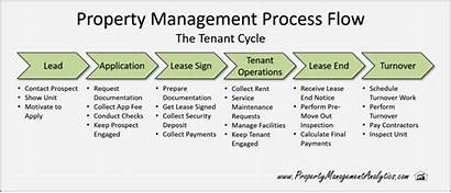 Management Flow Process Property Lead Tenant