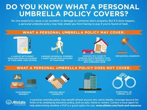 personal umbrella policy cover allstate