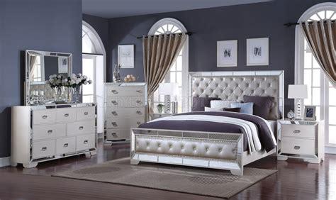 gloria pc bedroom set  ivory woptions