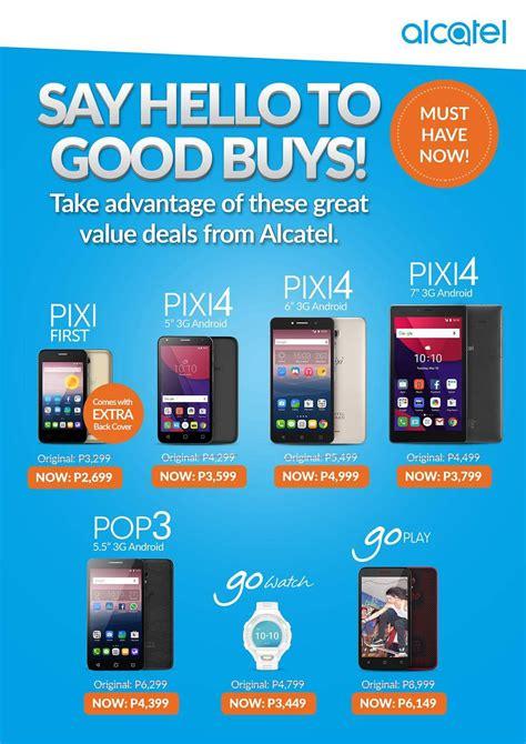 alcatel pixi 4 6 appears price specs philippines geekschicksten