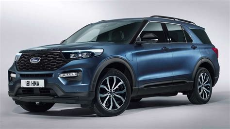 ford in 2020 2020 ford explorer phev revealed in europe with 450 hp