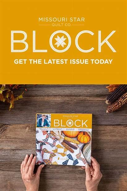 Block Issue Missouri Quilt Magazine Winter Chili