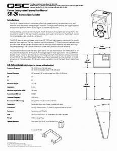Sr-26 Manuals