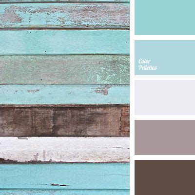 cool palette in which muted turquoise and soft blue colors