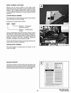 Bobcat 853h Skid Steer Loader Service Repair Manual S  N 509711001