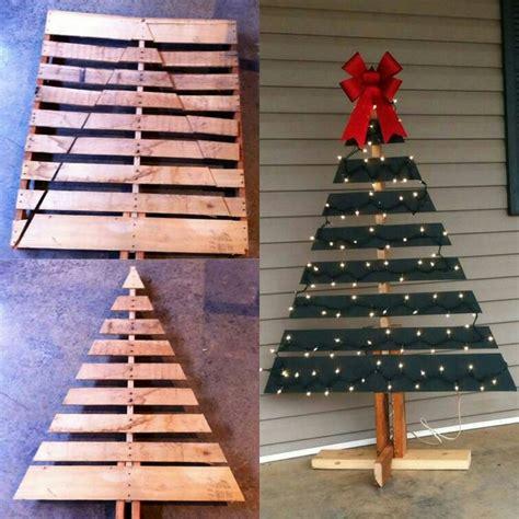 ideas  pallet christmas tree  pinterest