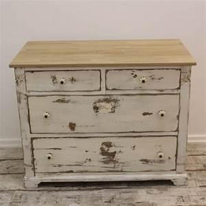 Schreibtisch Shabby Chic Look : massive alte kommode im shabby look zimmerei niemann ~ Lizthompson.info Haus und Dekorationen