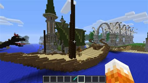 minecraft builds  dragon   join survival bukkit server youtube