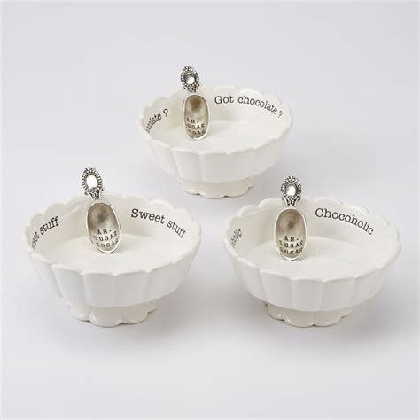 Baby Shower Boy Candy by Mud Pie Scalloped Candy Dish Sets Mud Pie