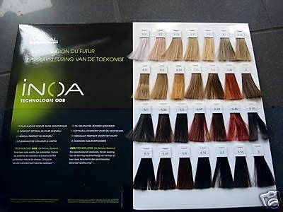 inoa color chart 39 oreal inoa color chart search pictures photos hair