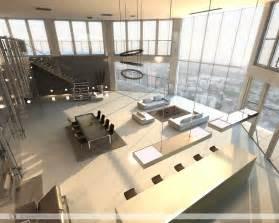 open space floor plans open plan penthouse design layout interior design ideas