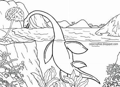 Jurassic Coloring Park Pages Raptor Rex Museum