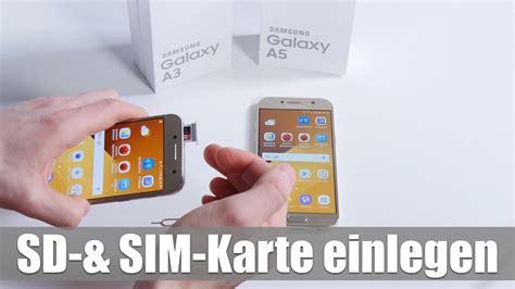 Welche Sim Karte Samsung Galaxy A5
