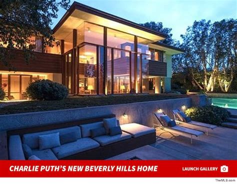 charlie puth buys cool home  beverly hills