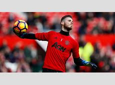 Real Madrid give Manchester United goalkeeper David De Gea