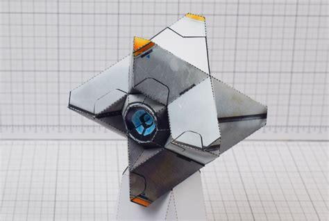 destiny ghost fan art fold  toys