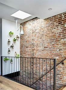 comment restaurer un mur interieur en brique With mur interieur en brique