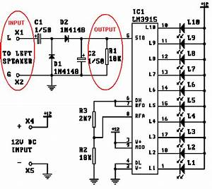 mosfet signal volume led array electrical engineering With vu meter circuit with 10 led b2b electronic components