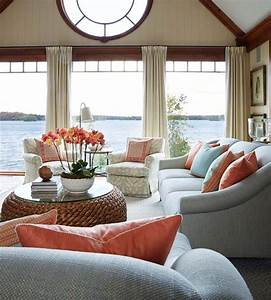 A delightful muskoka lake house with a soothing ambiance for Delightful couleur pour salon moderne 13 maison contemporaine dompierre sur mer