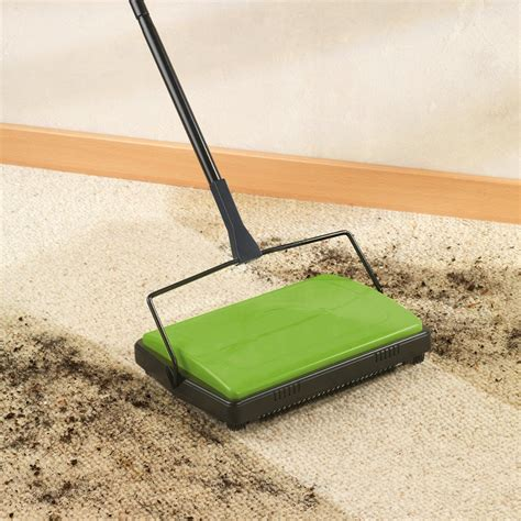Wenko Carpet Sweeper  Green  Wenko  Ethical Superstore