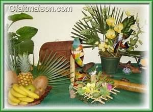 Decoration Theme Mer A Faire Soi Meme : fabriquer deco hawai visuel 6 ~ Preciouscoupons.com Idées de Décoration